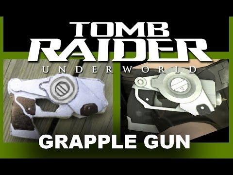 How to make the grapple gun from Tomb Raider Underworld