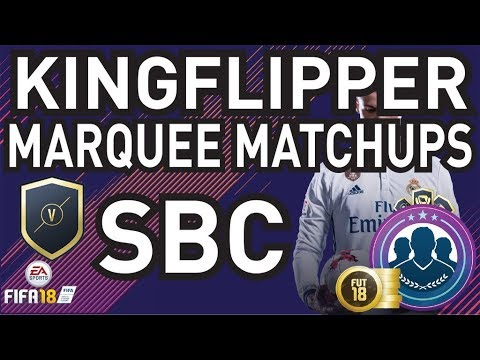 Marquee Matchups Completed - Cheapest Method - (21/11-28/11) - Fifa 18
