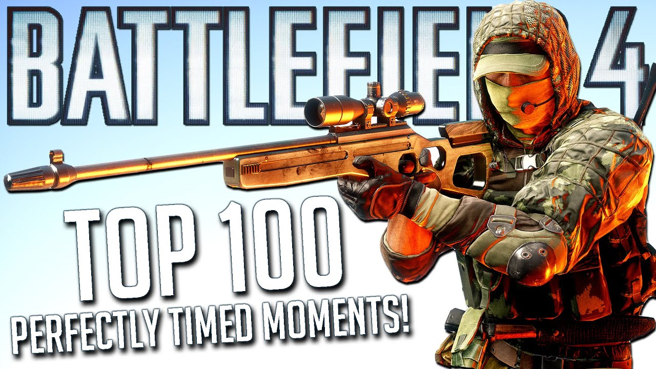 TOP 100 PERFECTLY TIMED BATTLEFIELD 4 MOMENTS IN HISTORY! (Compilation)