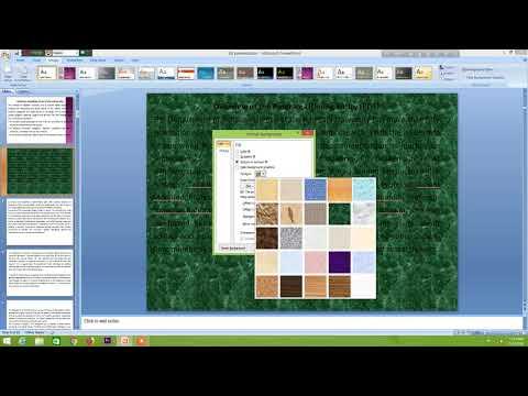 Powerpoint 2007 tutorials   Background Change  5