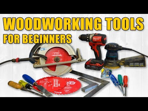 Beginner Woodworking Tools | Hand Tools & Power Tools | Woodworking for Beginners #31