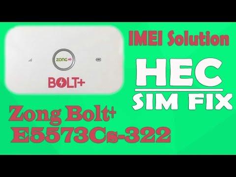 Huawei Zong E5573Cs-322 21 323,327,328,329 IMEI Repair Solution