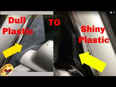 AMAZING !! How to Repair FADED Plastic FAST!