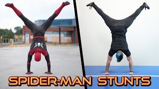 Doing Stunts From The Amazing Spider-Man In Real Life
