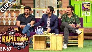 Sunny Deol ,Bobby Deol and Shreyas Talpade with Kapil Sharma - The Kapil Sharma Show – 11th Dec 2016