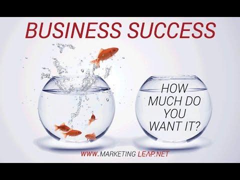 Marketing Leap Business Success - Motivational Video