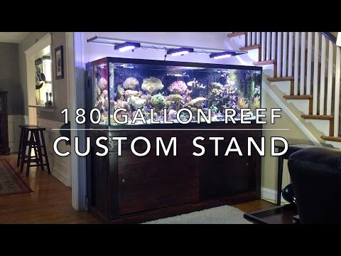 Custom Stand for 180 Gallon Reef Tank