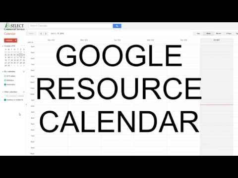 Google Resource Calendar