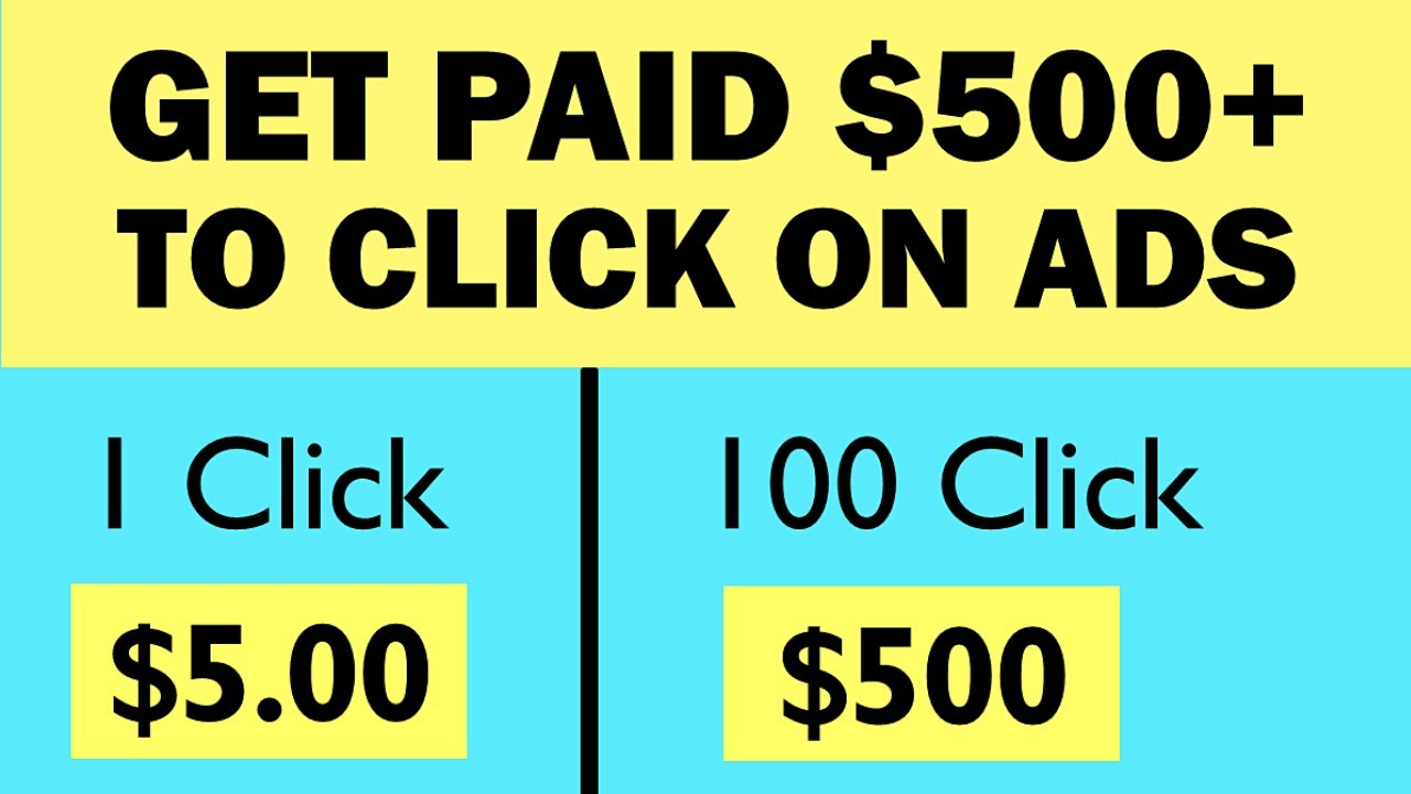 Click Ads & Earn $500+/Daily ($5.00 Per Click) FREE Make Money Online | Branson Tay