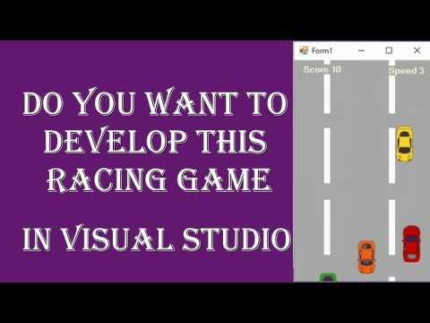 Promo| Racing Game | Visual Studio | Beginners Full Tutorial | HD