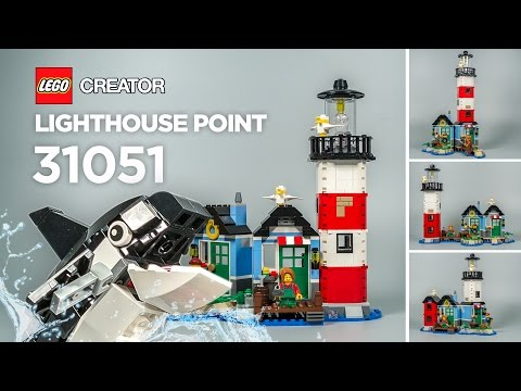 LEGO 31051 Lighthouse Point Stop Motion Build