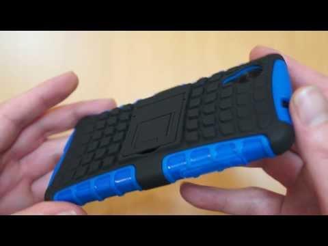 ArmourDillo LG Google Nexus 5 Case Review - Blue