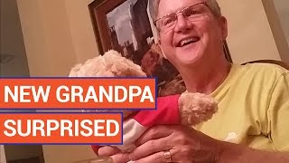 New Grandpa Surprise With Teddy Bear | Daily Heart Beat