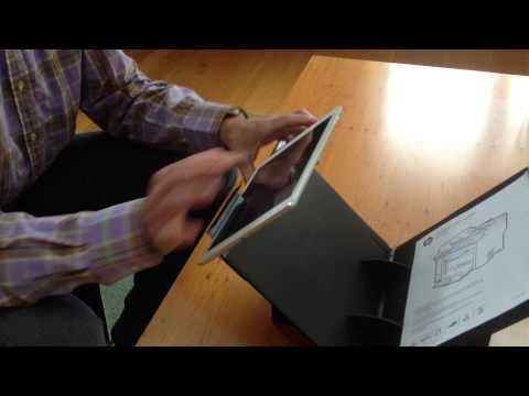 Scanning documents and books using Fopydo Stand and iPad Air