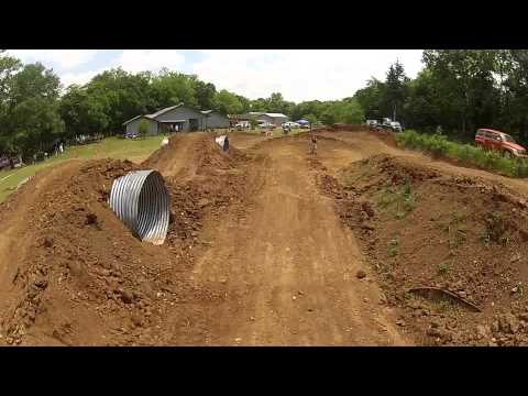 Klx 110L pit bike track sunday fun day!! GoPro HD