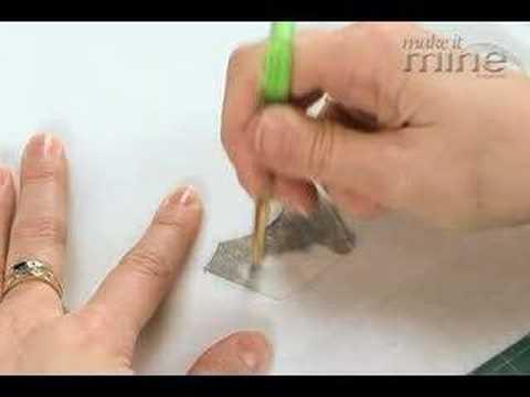 Make It Mine Magazine - Stenciling On Fabric