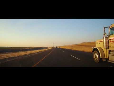 Driving from Oakland, California to Las Vegas, Nevada (timelapse)