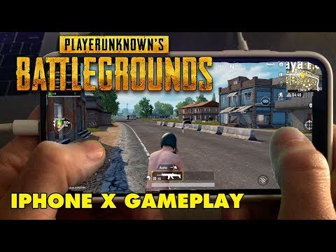 PUBG on iPhone X! - PlayerUnknown's Battlegrounds Mobile Gameplay - High Quality Graphics