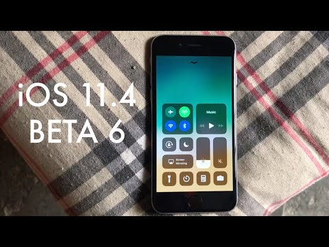 iOS 11.4 BETA 6 On iPHONE 6! (Review)