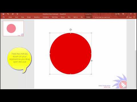 How to add an analogue timer to PowerPoint