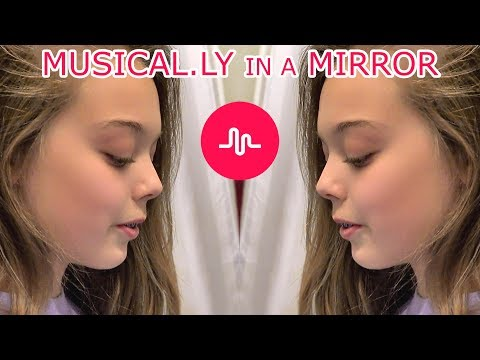 Musical.ly in a Mirror | Whitney Bjerken