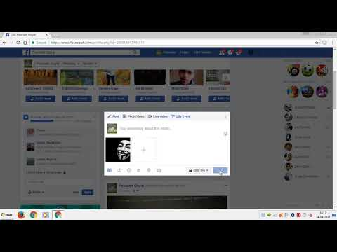 How to make your posts private on FACEBOOK