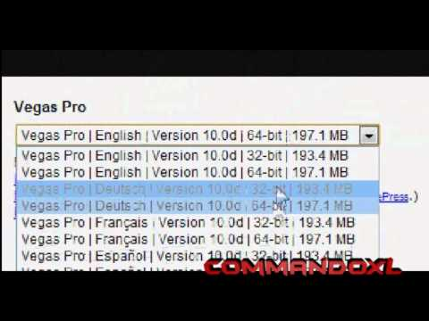 How to get Sony Vegas 10 (Trial)