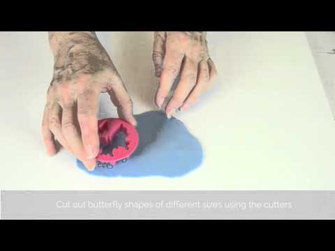 Bake Club presents: How to make sugarpaste butterflies