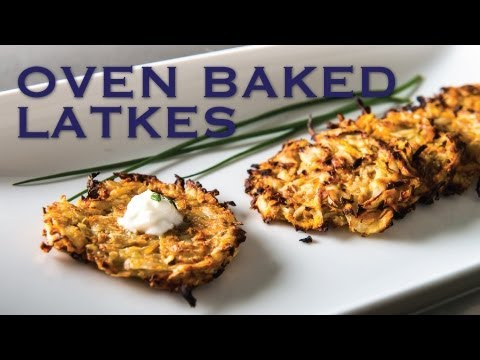 Healthy Oven Baked Latkes - The Hot Plate