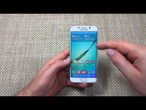 Samsung Galaxy S6 Edge How to change your Home Screen to a different screen