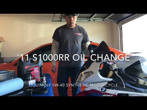 How To: BMW S1000RR Oil Change