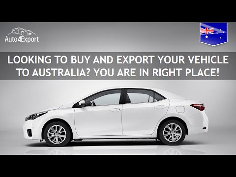 Shipping cars from USA to Australia - Auto4Export