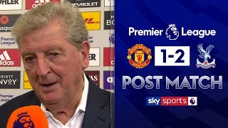 Palace's 'heroic' victory at Old Trafford | Roy Hodgson Post Match | Man Utd 1-2 Crystal Palace