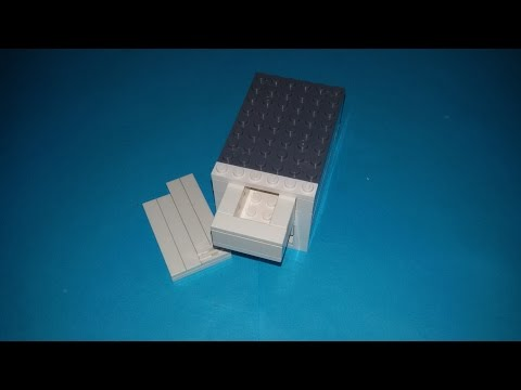 How to make lego safe unlocking by card