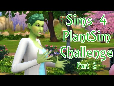 Sims 4 PlantSim Challenge- Part 2 (Angry, Playful, and Confident)