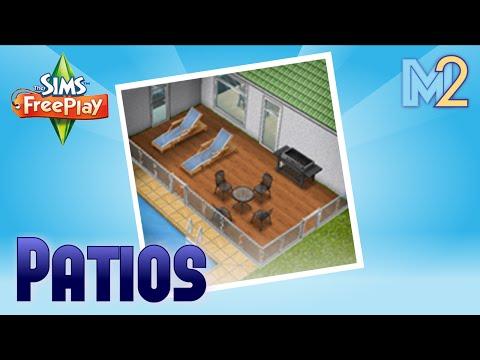 Sims FreePlay - Patio Quest (Tutorial & Walkthrough)