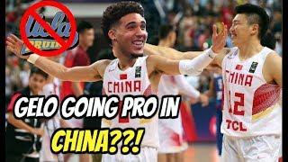 LiAngelo Ball, LaMelo Ball Considering Playing PRO Basketball Overseas?! [CHINA AN OPTION?]