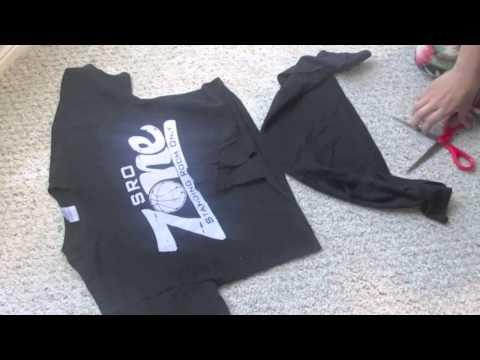 DIY  Tie-Front Shirt