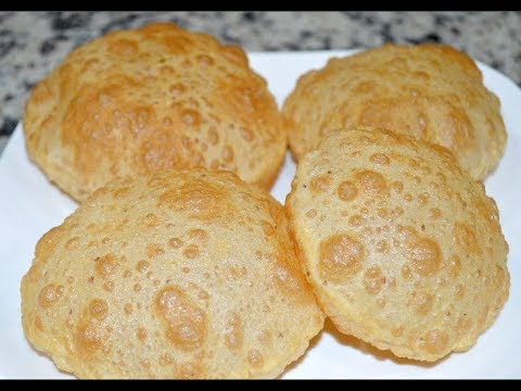 Poori Recipe - Perfect puffy and Soft puri Recipe - Indian Poori recipe
