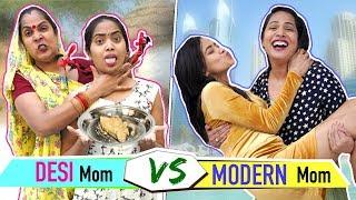 DESI Mom vs MODERN Mom | ShrutiArjunAnand |