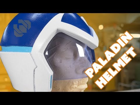 Voltron Paladin Helmet - Paint and Custom Visor Tutorial & GIVEAWAY!