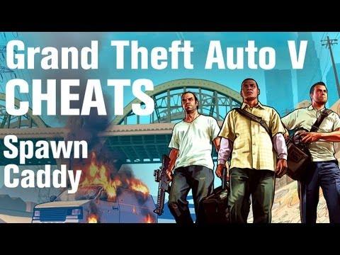 GTA 5 Cheats - Spawn Caddy