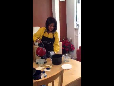 Cheryl Cook's 2nd part of making pilaf rice in the Pampered