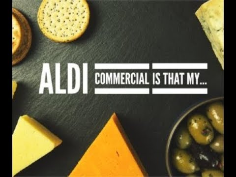 Aldi commercial is that my earring in your nose