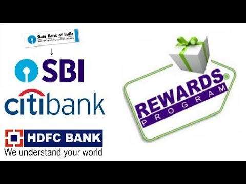 SBI And CITI BANK Rewards Points Reddem