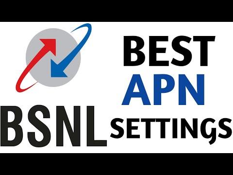 Best APN settings for BSNL 3g 333,444 plan