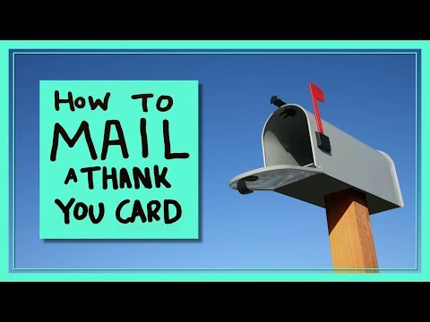 How to Mail a Thank You Card