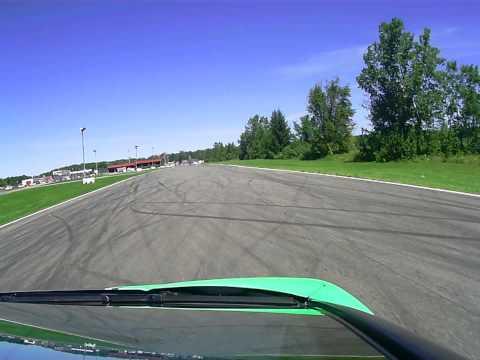 G1 tour Stephane Laporte avec une lamborghini gallardo a autodrome a st-eustache 2013