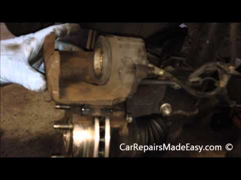 Ford Escape Front Brake Pads and Rotors Replacement