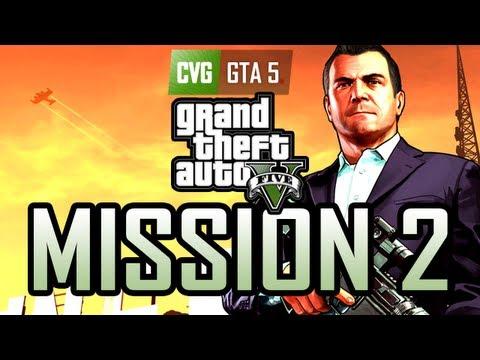 GTA 5 Gameplay Walkthrough Part 2: Franklin & Lamar [Gold] [No commentary]